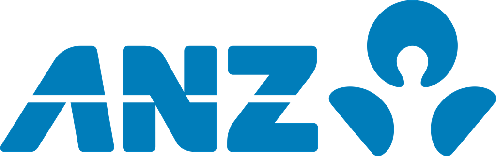 ANZ logotype, transparent .png, medium, large
