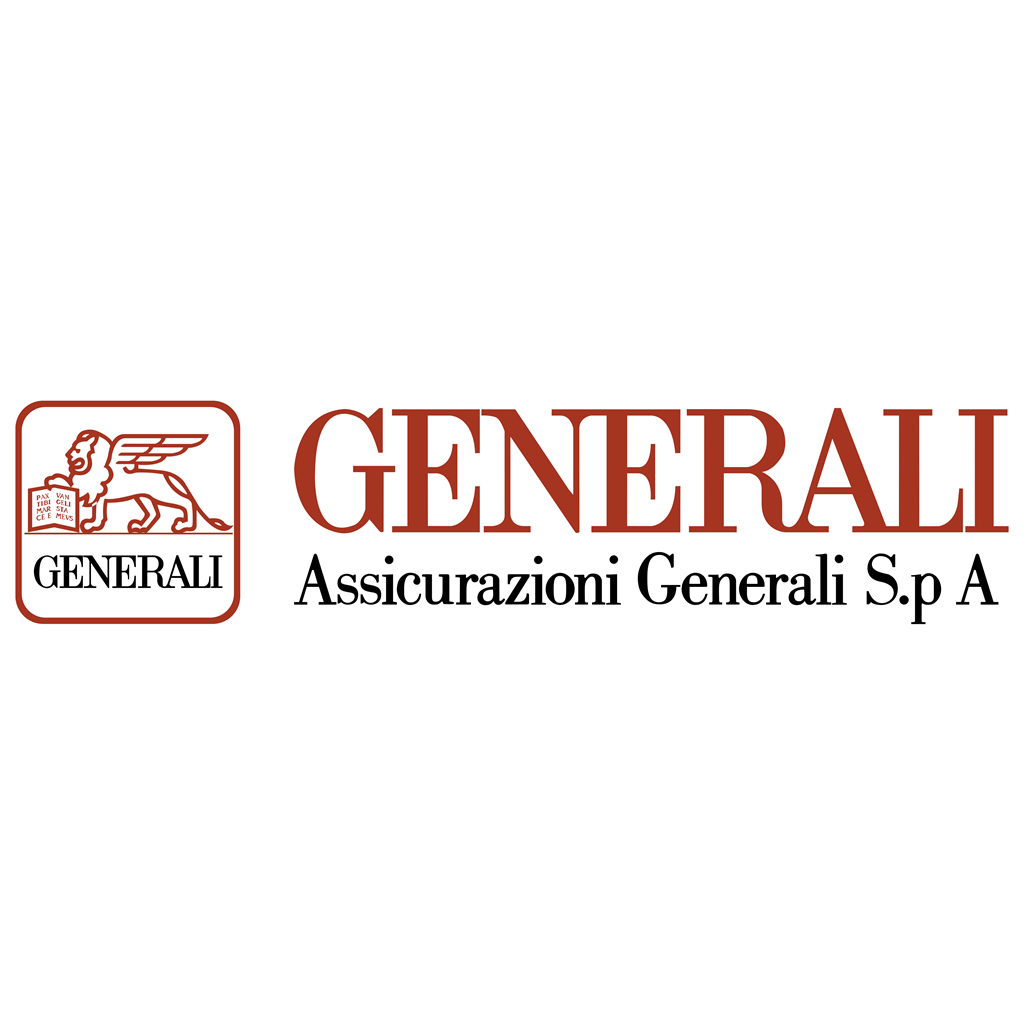 Assicurazioni Generali logotype, transparent .png, medium, large