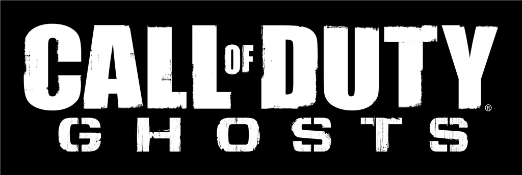 Call of Duty Ghosts logotype, transparent .png, medium, large