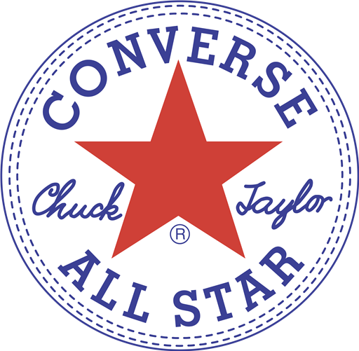 Converse All Star white logo