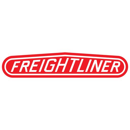 Freightliner trucks – red logo