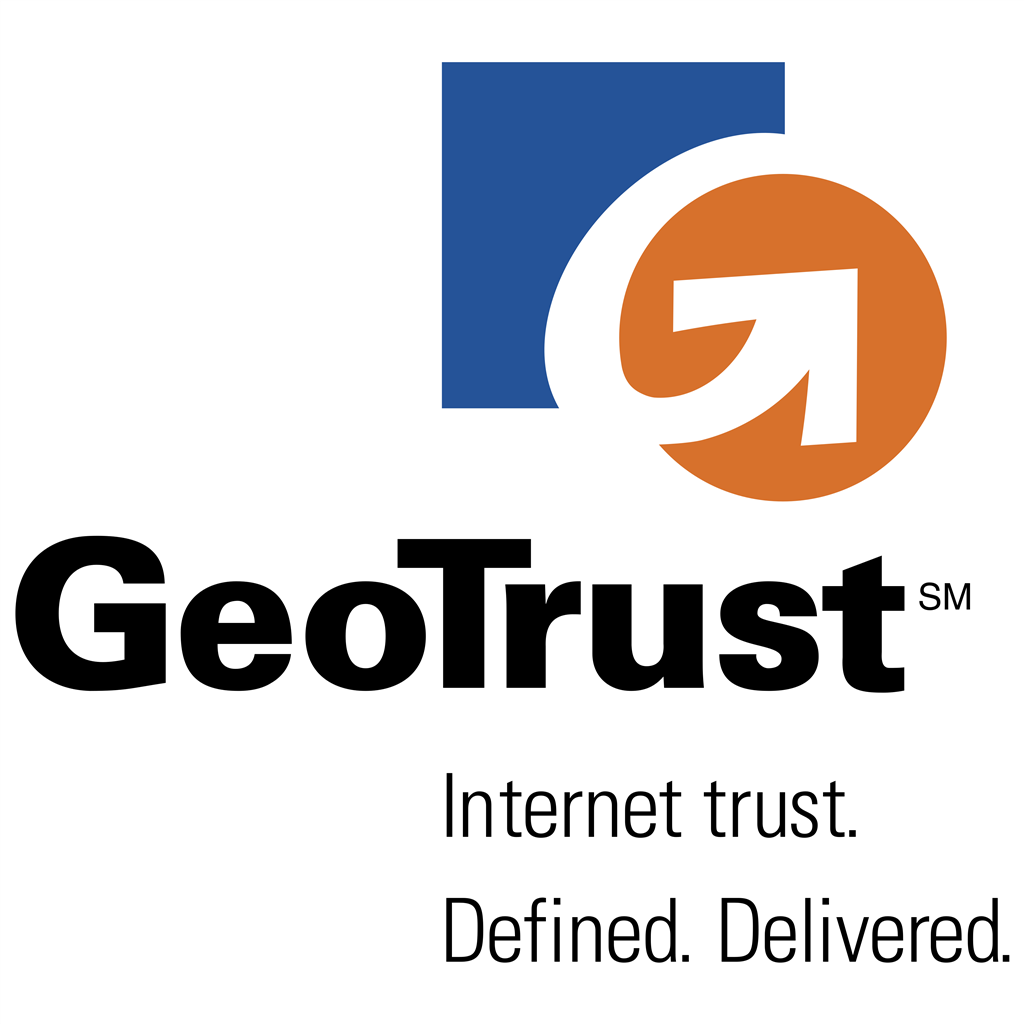 GeoTrust logotype, transparent .png, medium, large