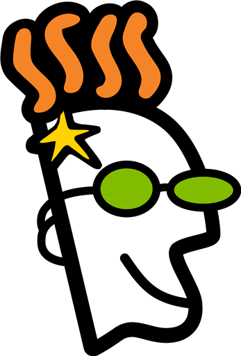 GoDaddy Head logo