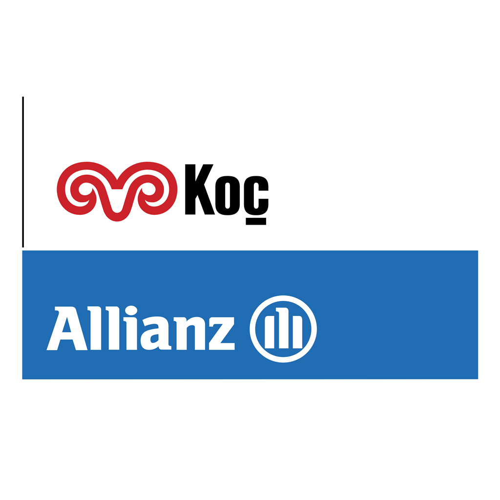 Koc Allianz logotype, transparent .png, medium, large