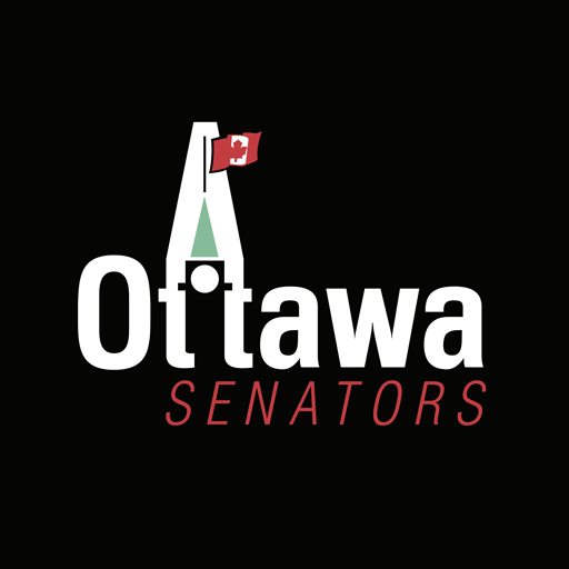 Ottawa Senators black logo