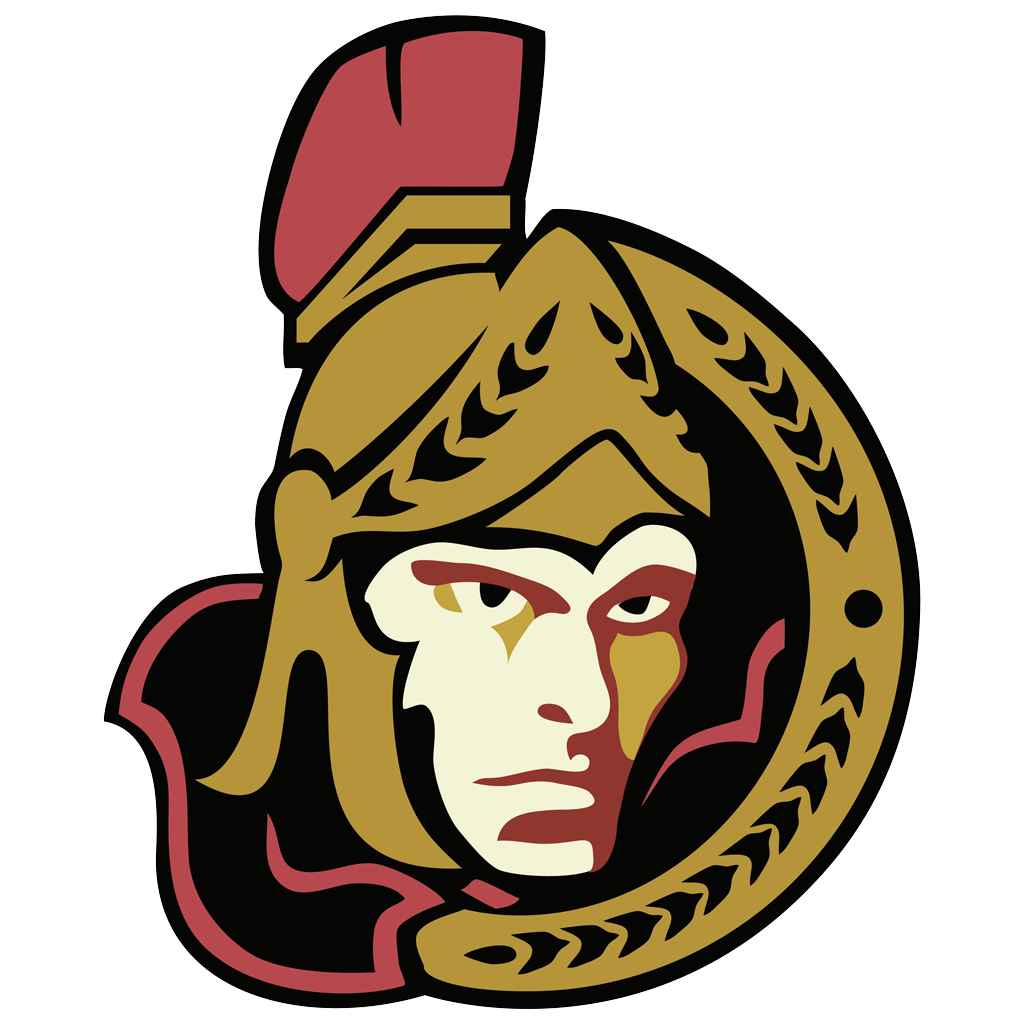 Ottawa Senators fas logotype, transparent .png, medium, large