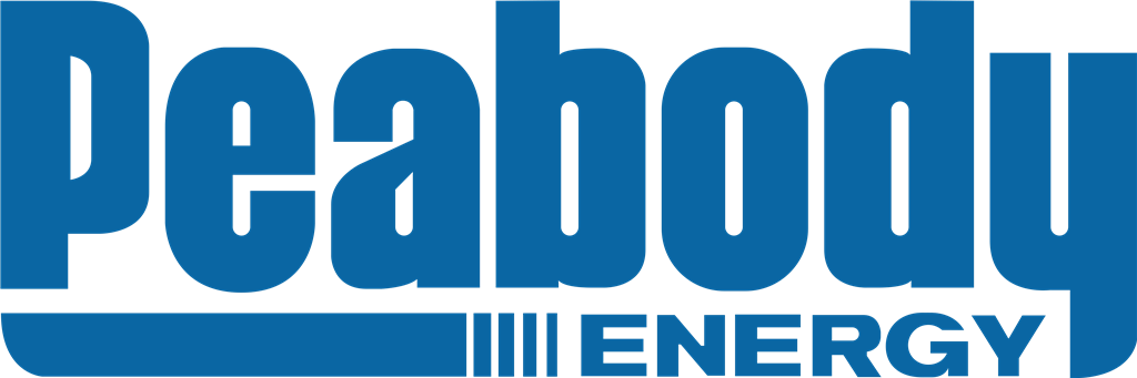 Peabody Energy logotype, transparent .png, medium, large