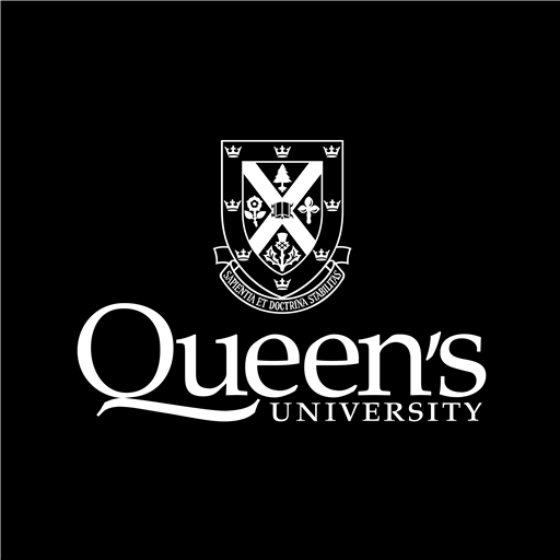 Queen's University black logo