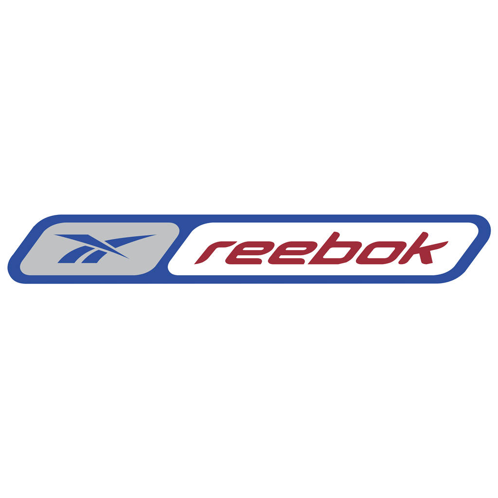Reebok red logotype, transparent .png, medium, large