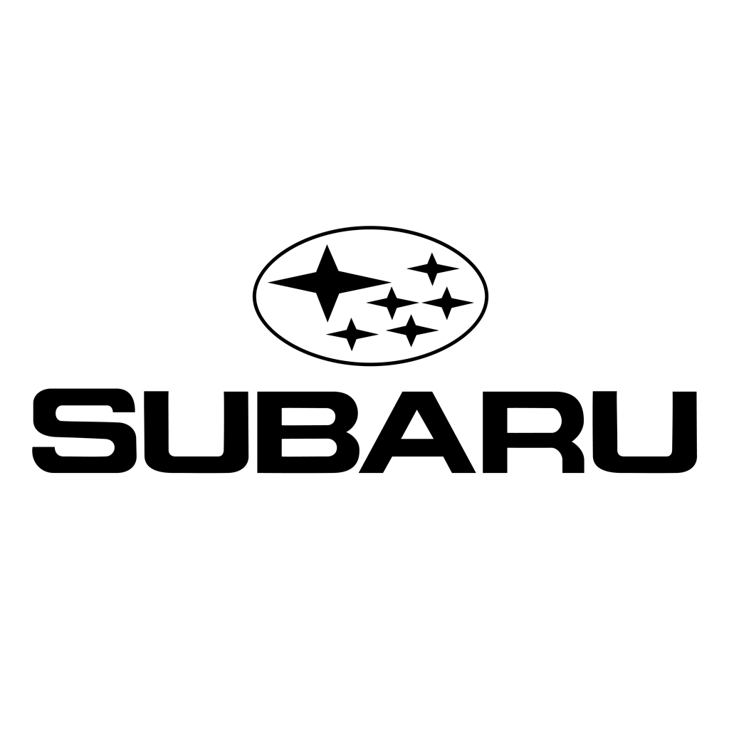 Subaru - tm logotype, transparent .png, medium, large