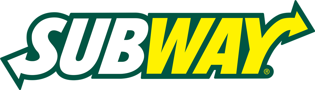 Subway logotype, transparent .png, medium, large