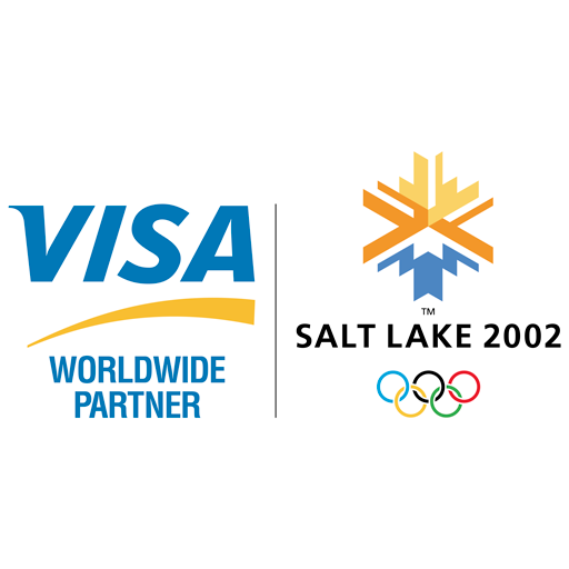 Visa Salt Lake 2002 logos logo