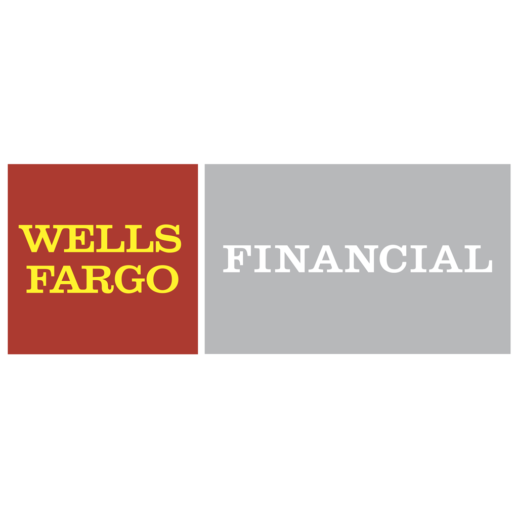 Wells Fargo Financial logotype, transparent .png, medium, large