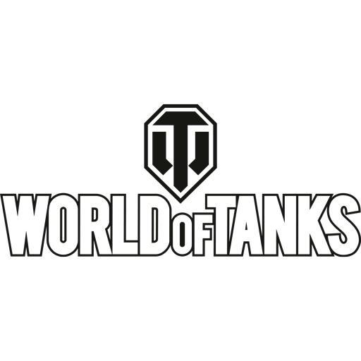 World of Tanks white logo