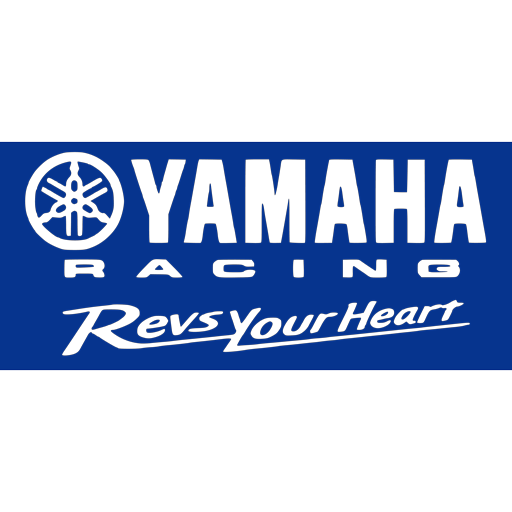 Yamaha Racing Revs Your Heart logo
