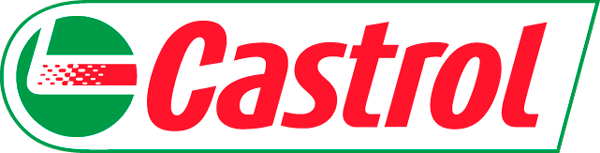 Castrol logotype, transparent .png, medium, large
