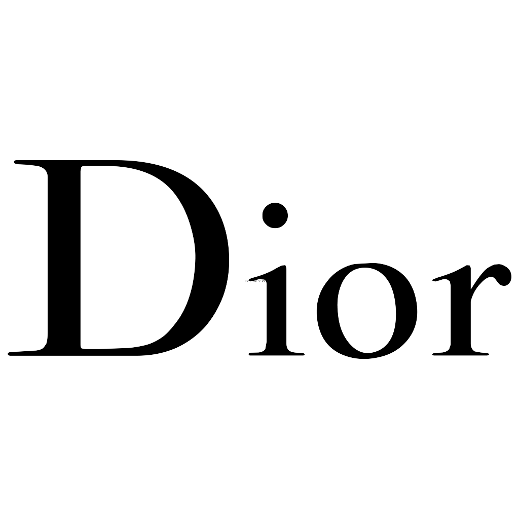 Dior logotype, transparent .png, medium, large