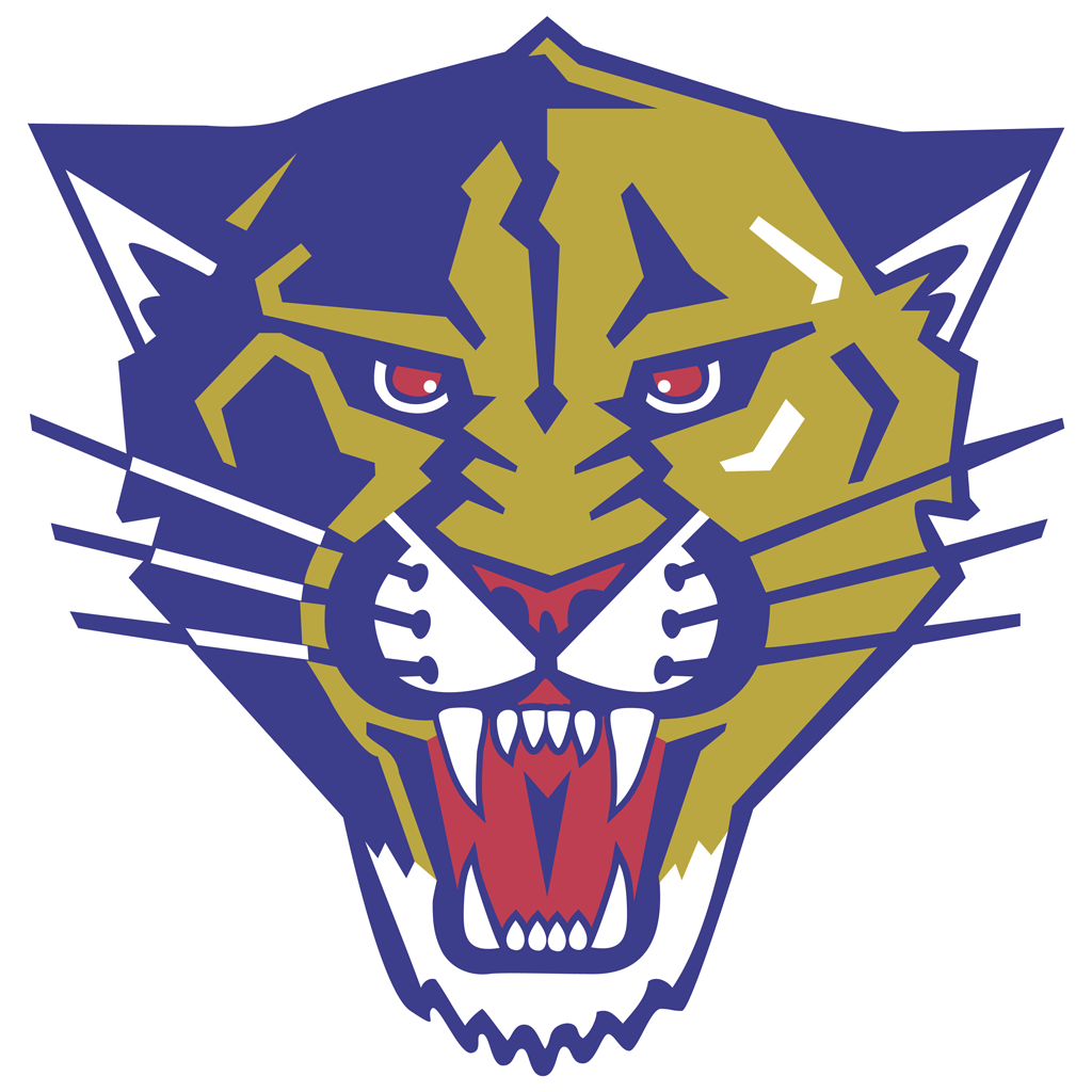 Florida Panthers - Head logotype, transparent .png, medium, large