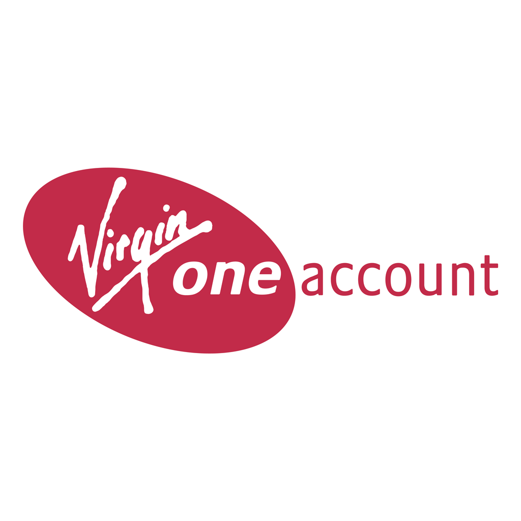 Virgin One Account logotype, transparent .png, medium, large