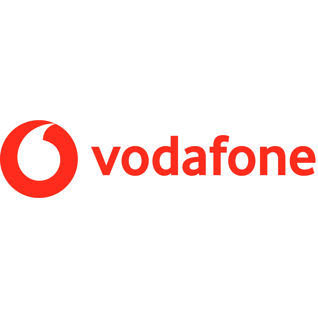 Vodafone 2017 logotype, transparent .png, medium, large